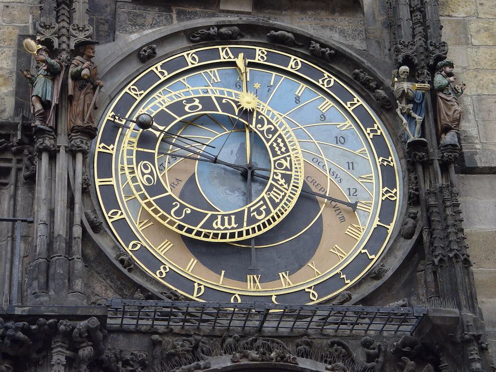 Prague Astronomical Clock Detail 1
